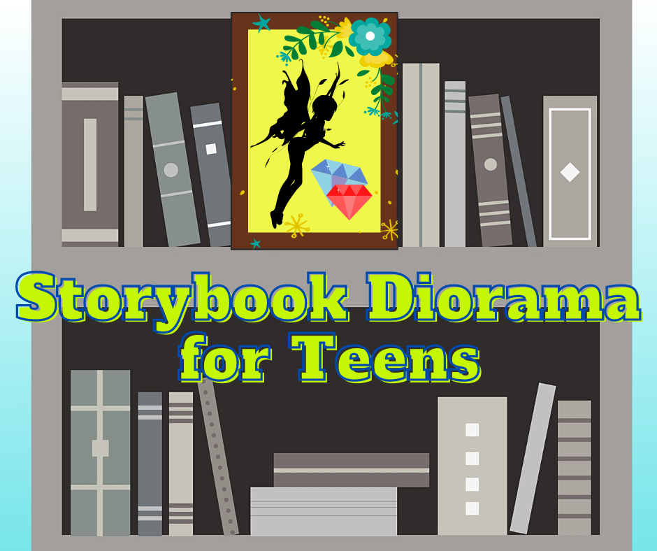 Tails and Tales Storybook Diorama for Teens