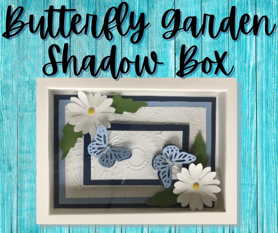 Butterfly Garden Shadow Box
