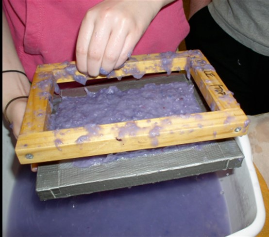 Paper-Making with Joan Beinetti