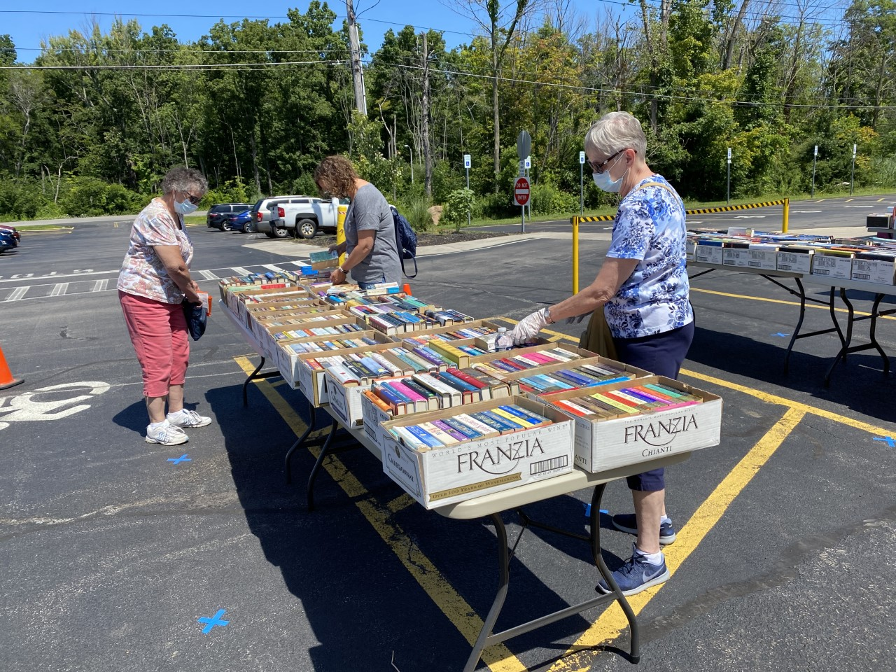 Webster Public Library Pop-Up Book Sale