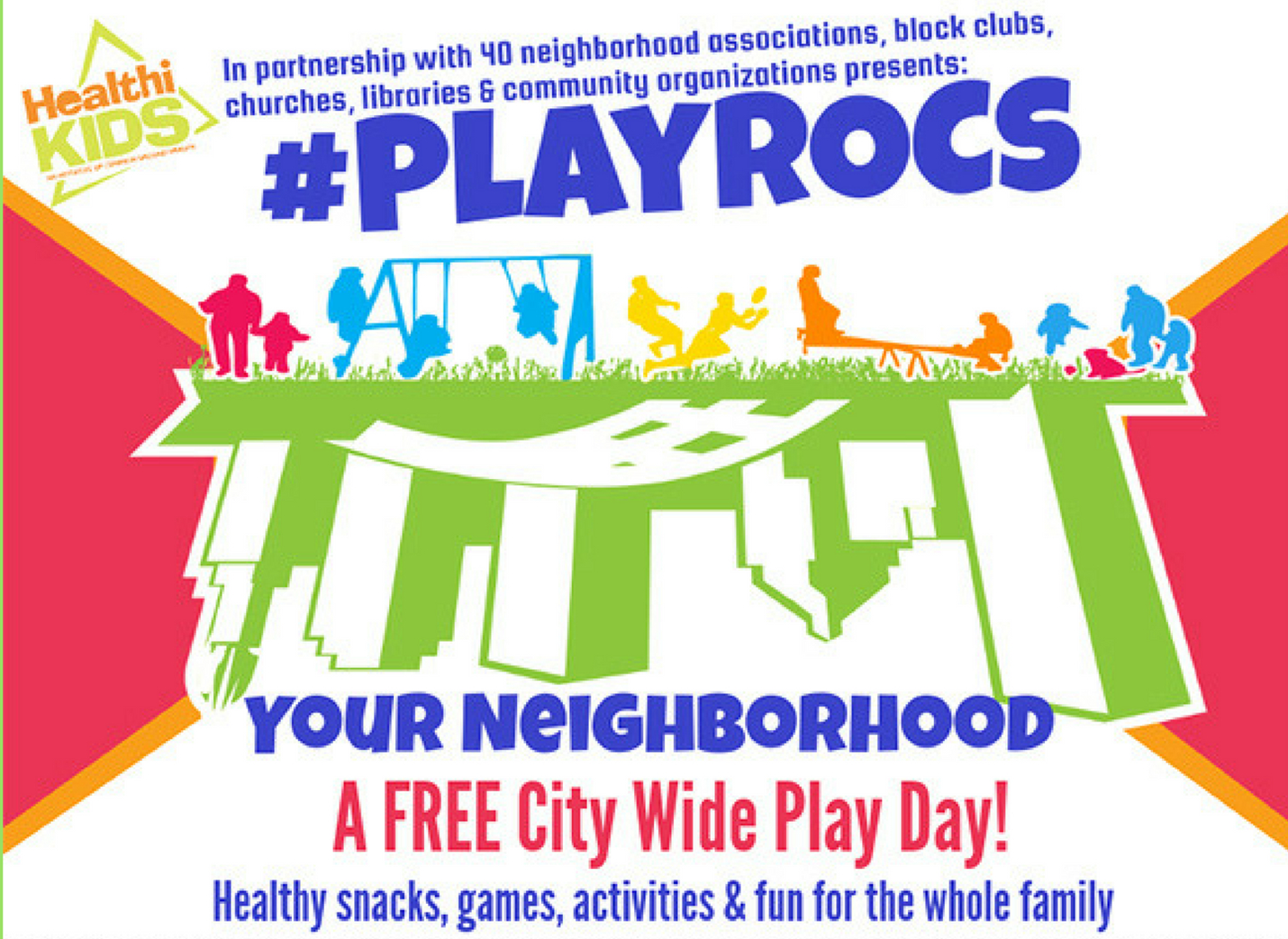 #PLAYROCS Play Day at the Library