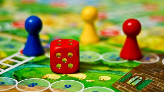Bored?  Board games to the rescue!