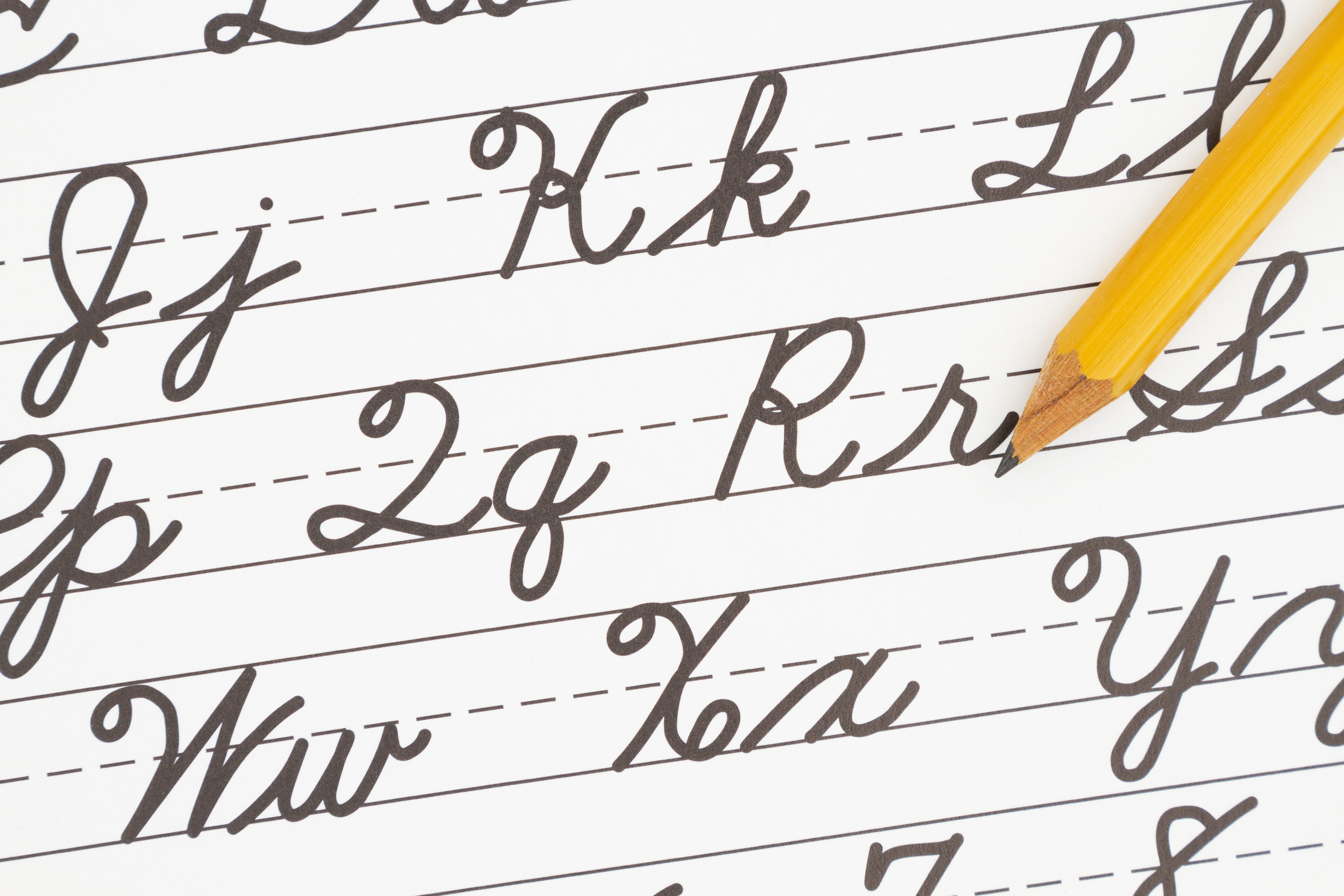 Cursive and Note Writing