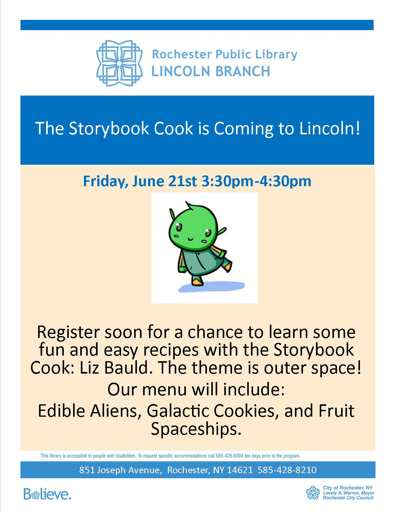 Cooking with the Storybook Cook