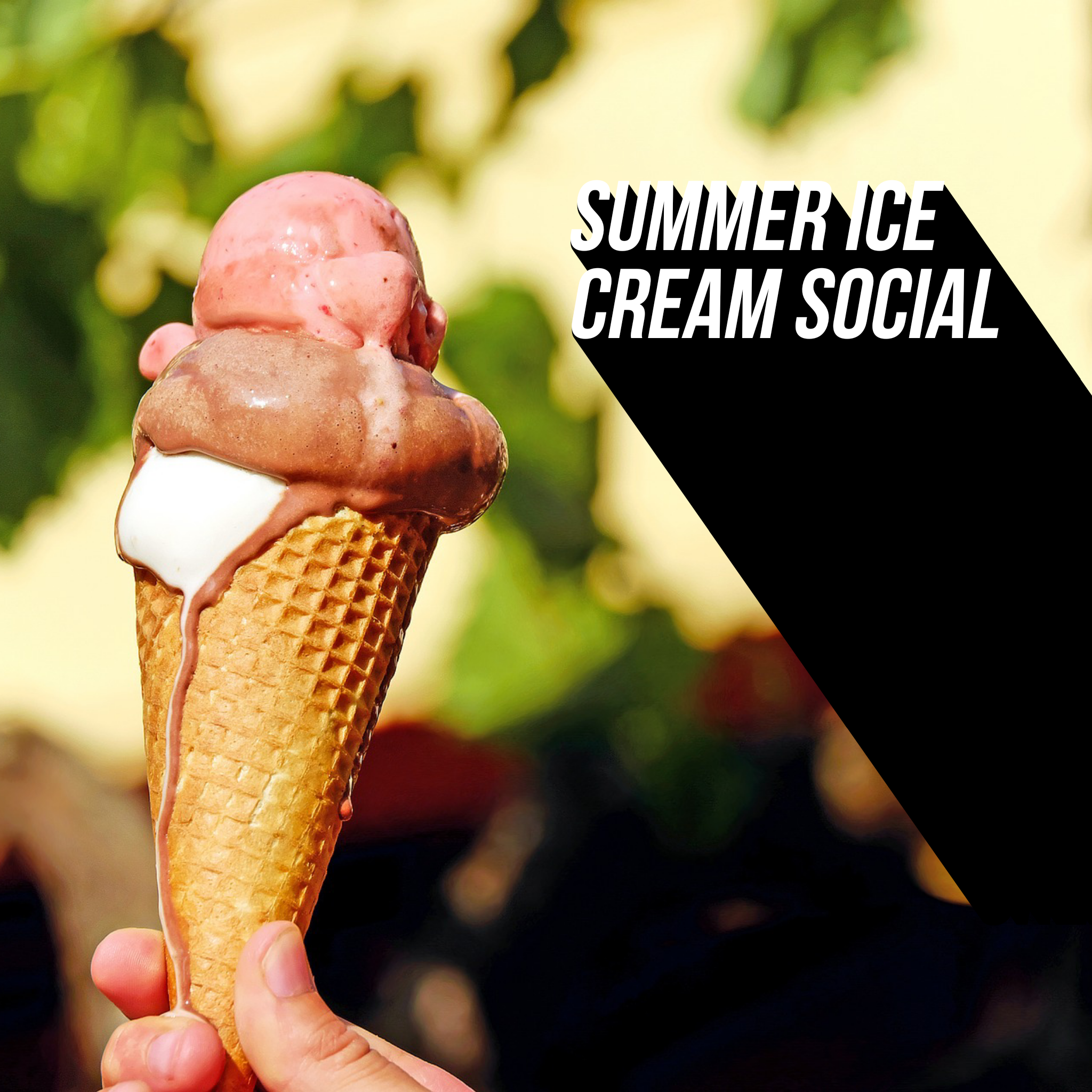 Summer Ice Cream Social