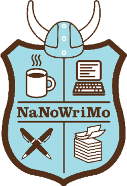 NaNoWriMo!  Writing space.