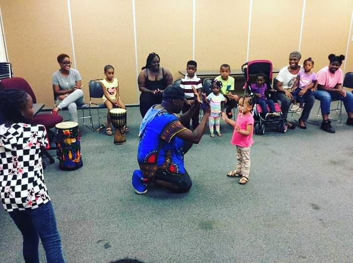 African Drums Presented by Building Families First