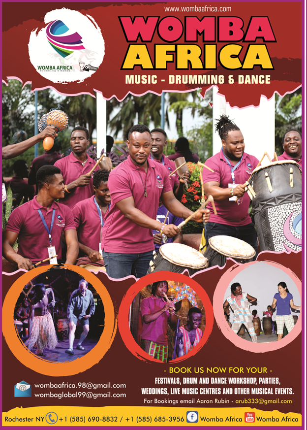 Womba Africa (Location: Monroe Family YMCA)