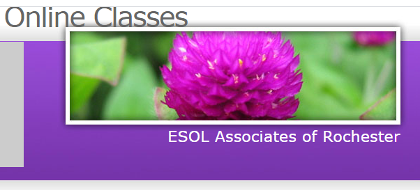 ONLINE class with ESOL associates of Rochester