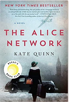 The Hoopla Huddle discusses The Alice Network by Kate Quinn