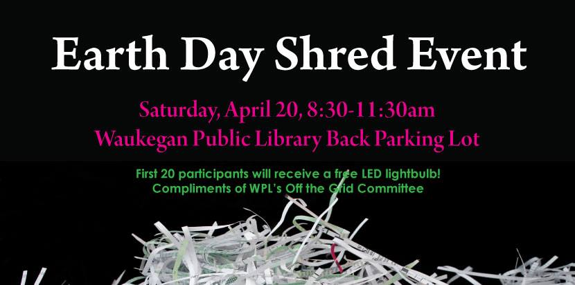Earth Day Shred Event