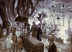 Virtual Graphic Novel Discussion Group: The Umbrella Academy Vol. 1: Apocalypse Suite by Gerard Way