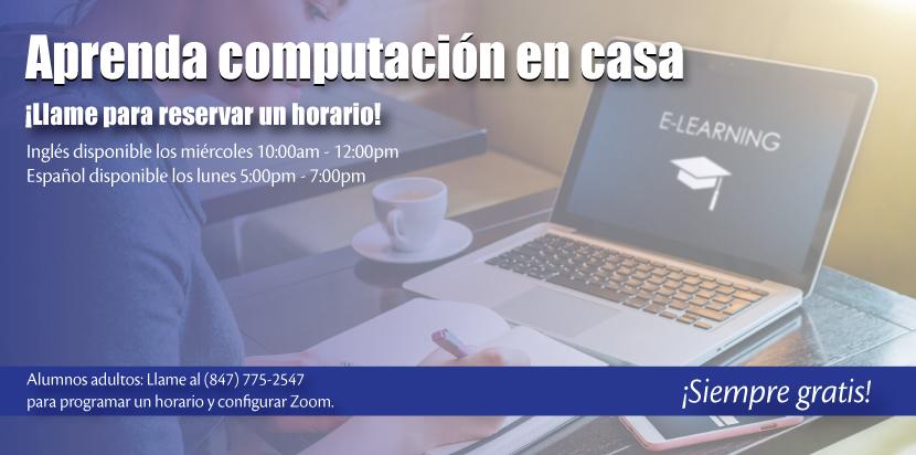 Ayuda en español con habilidades informáticas
