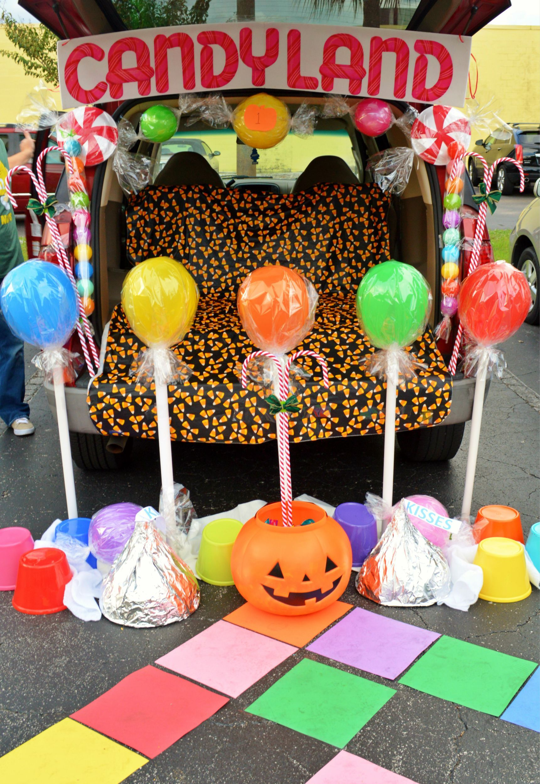 Life-Size Candyland: Halloween Edition