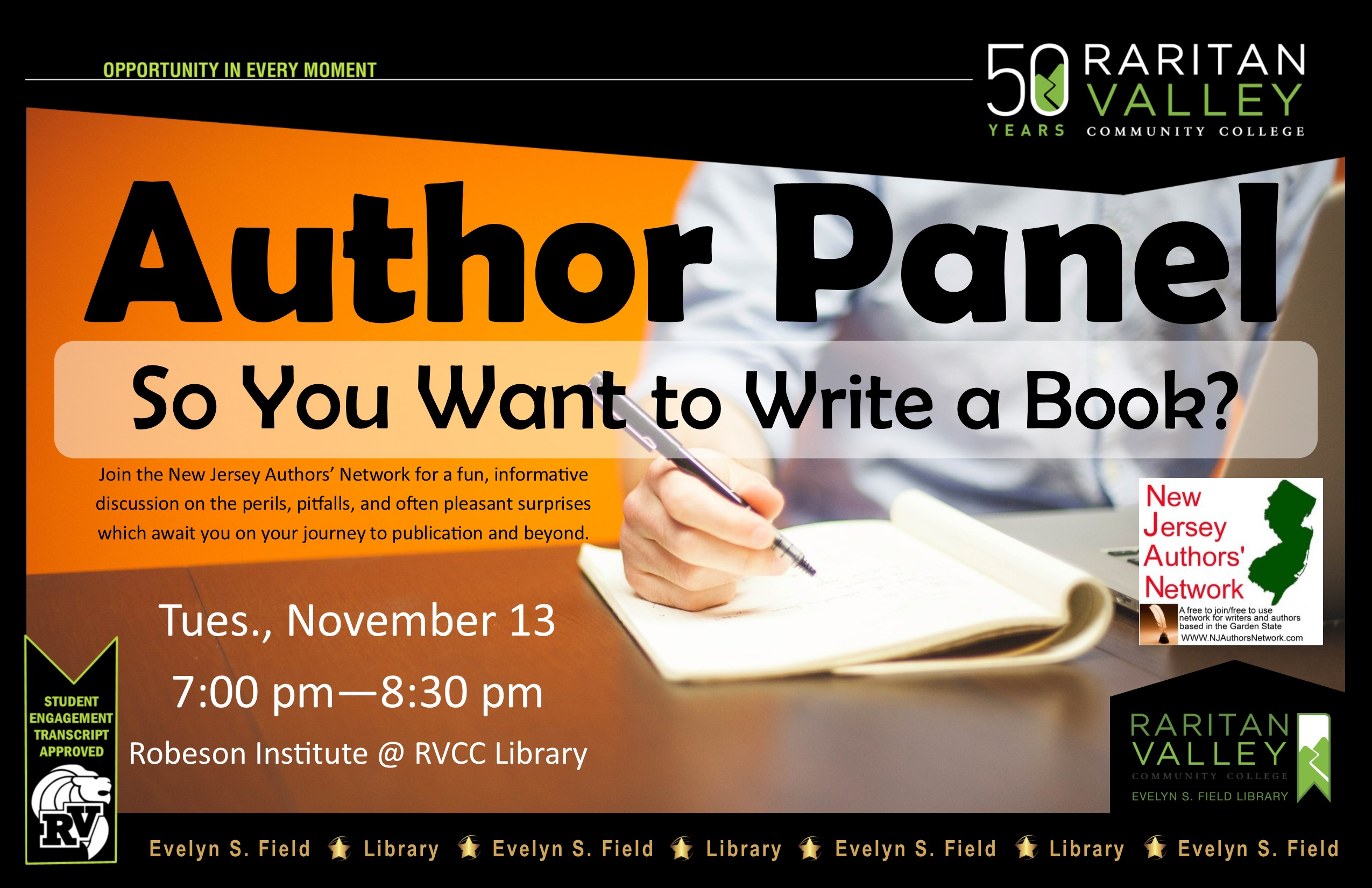 Author Panel: So You Want to Write a Book