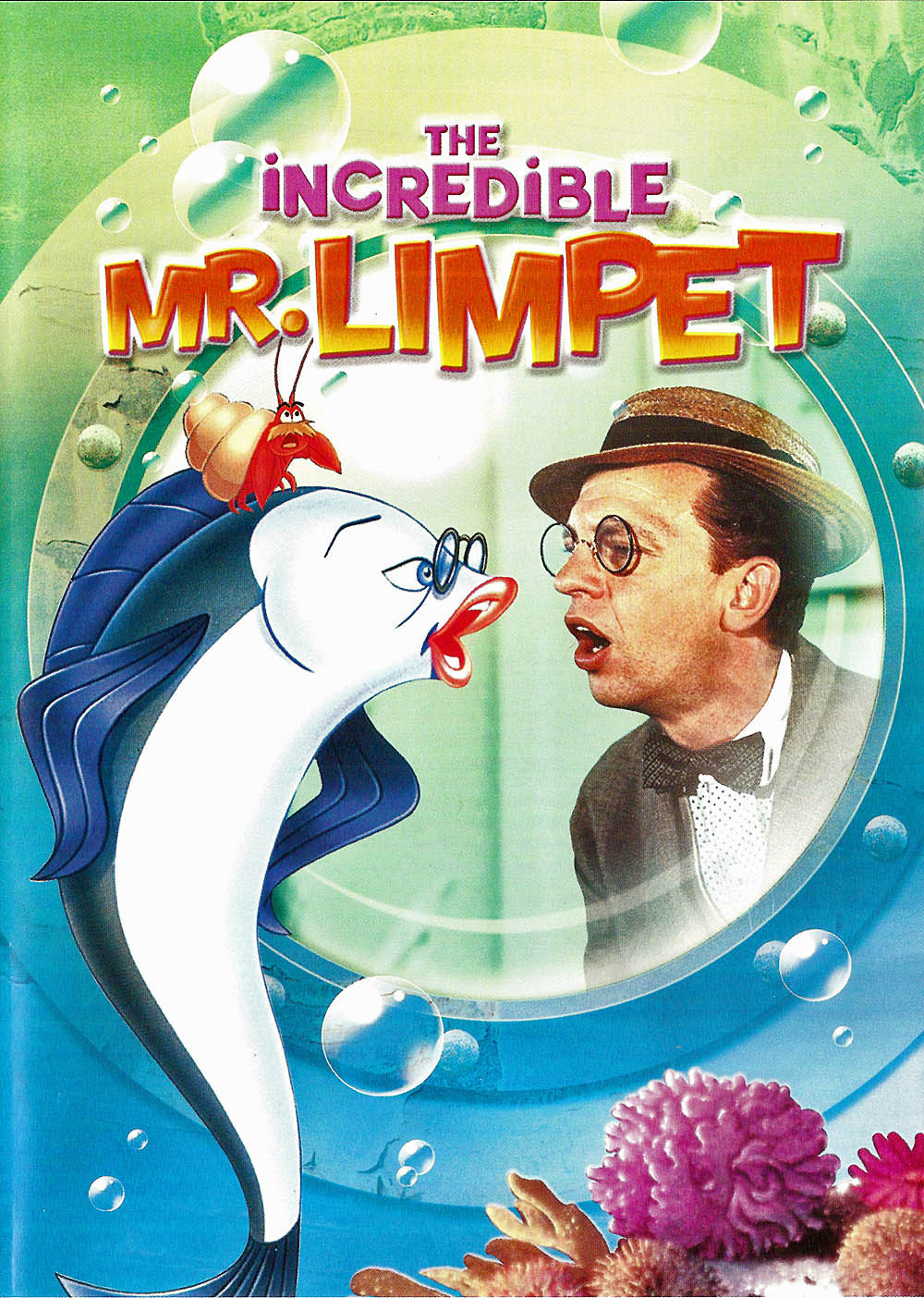 Family Movie Night: The Incredible Mr. Limpet
