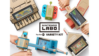#GlobalMakerDay: Nintendo Switch Labo Build and Play