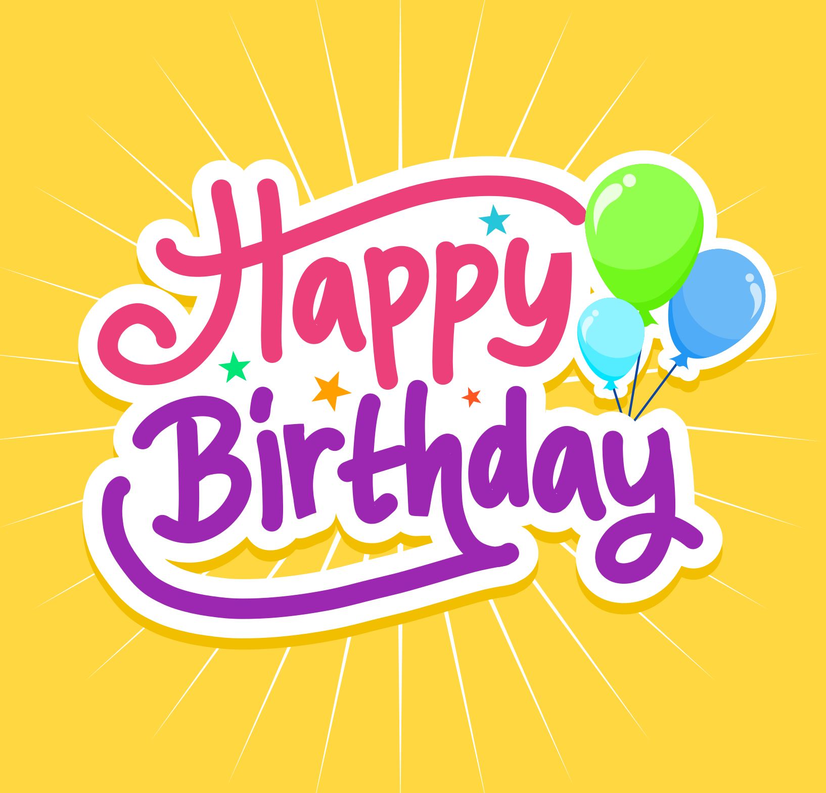 Happy Birthday! Monthly Storytime