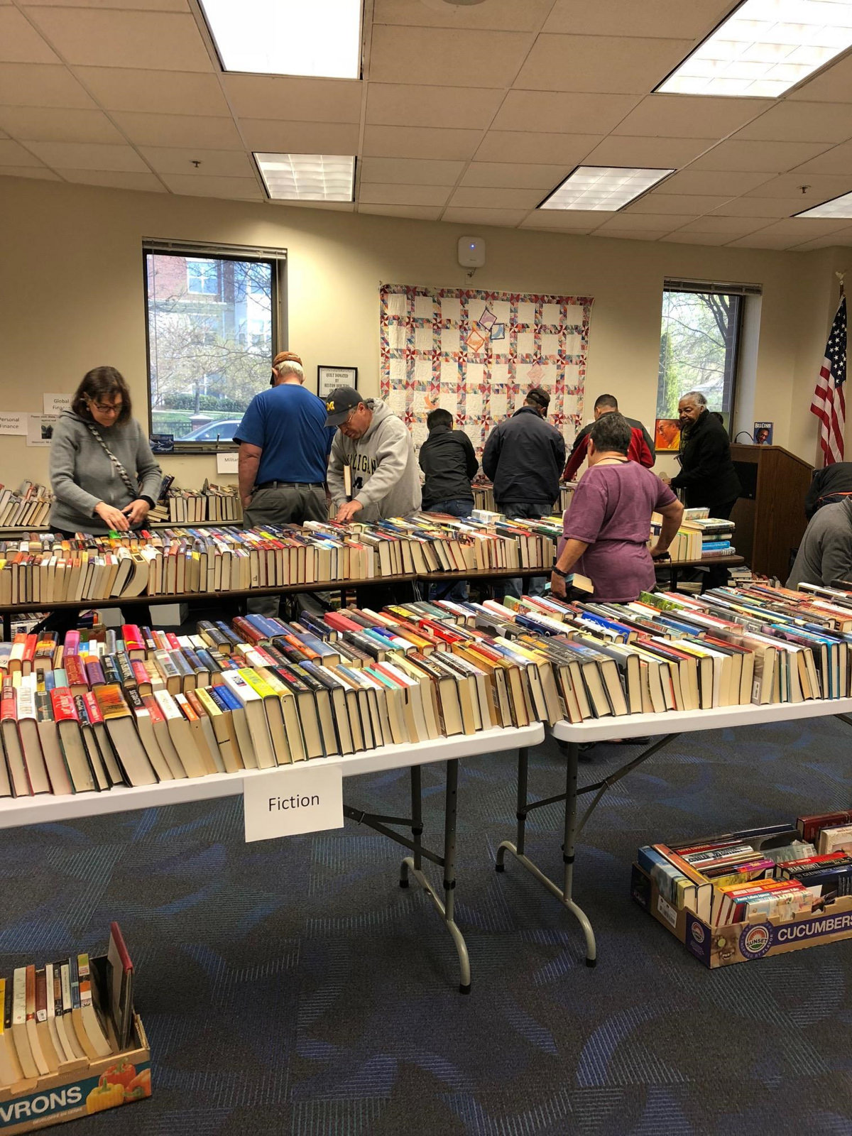 Thomas Jefferson Friends Semi-Annual Book Sale