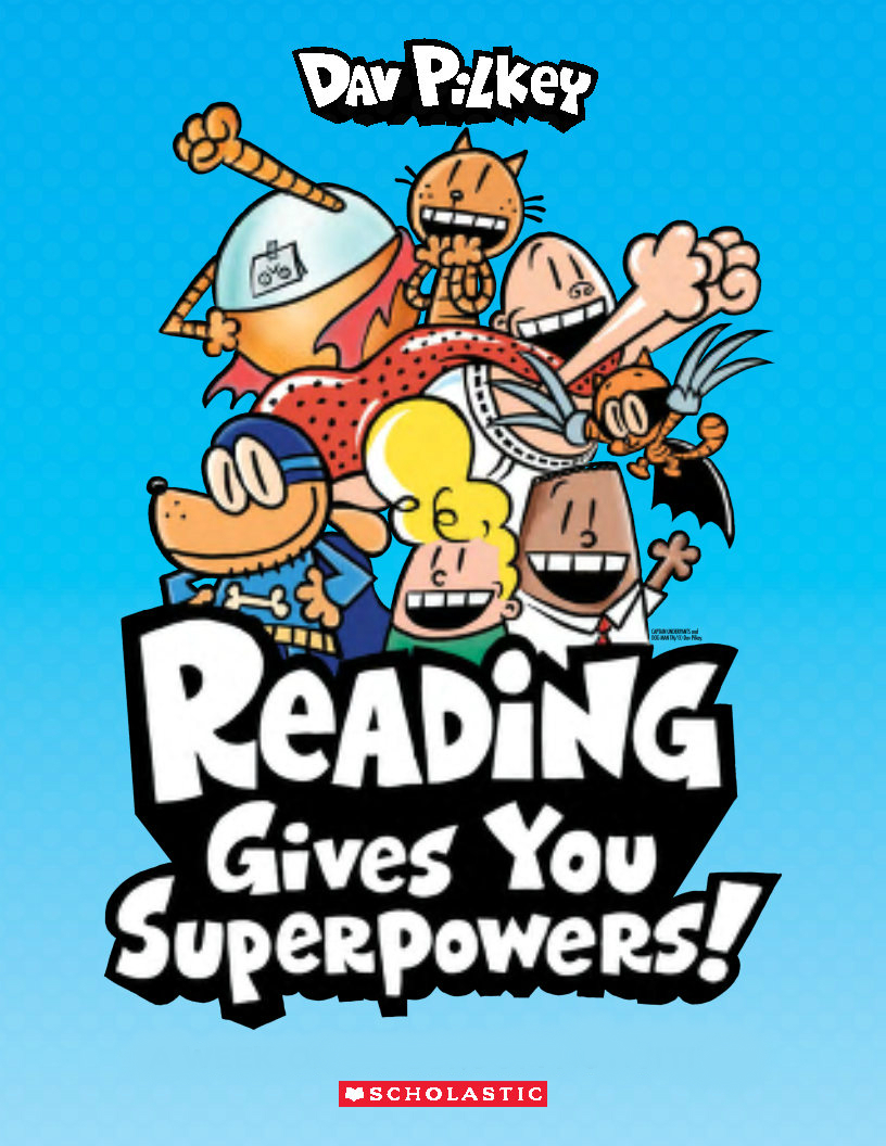 Reading Gives You Superpowers!