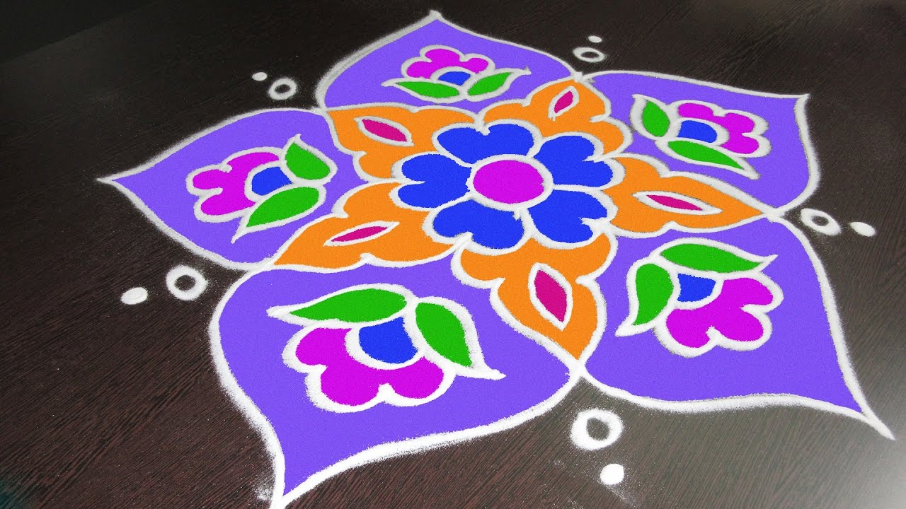 Cancel- Rangoli - Sand Art