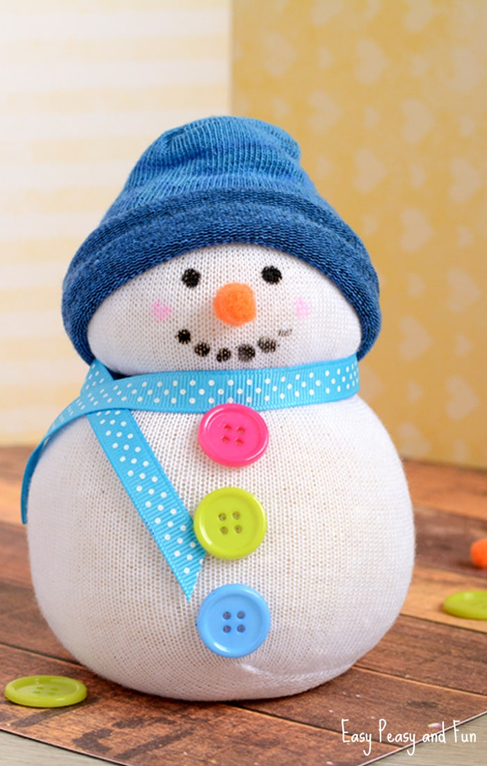 Make & Take Crafts: Sock Snowmen