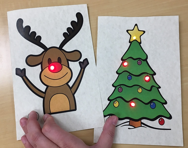 Saturday Crafterday:  Paper Circuit Cards