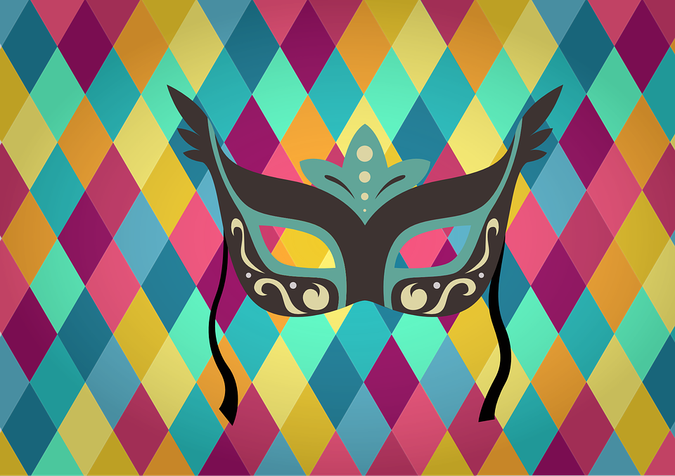 Teen DIY: Mardi Gras masks