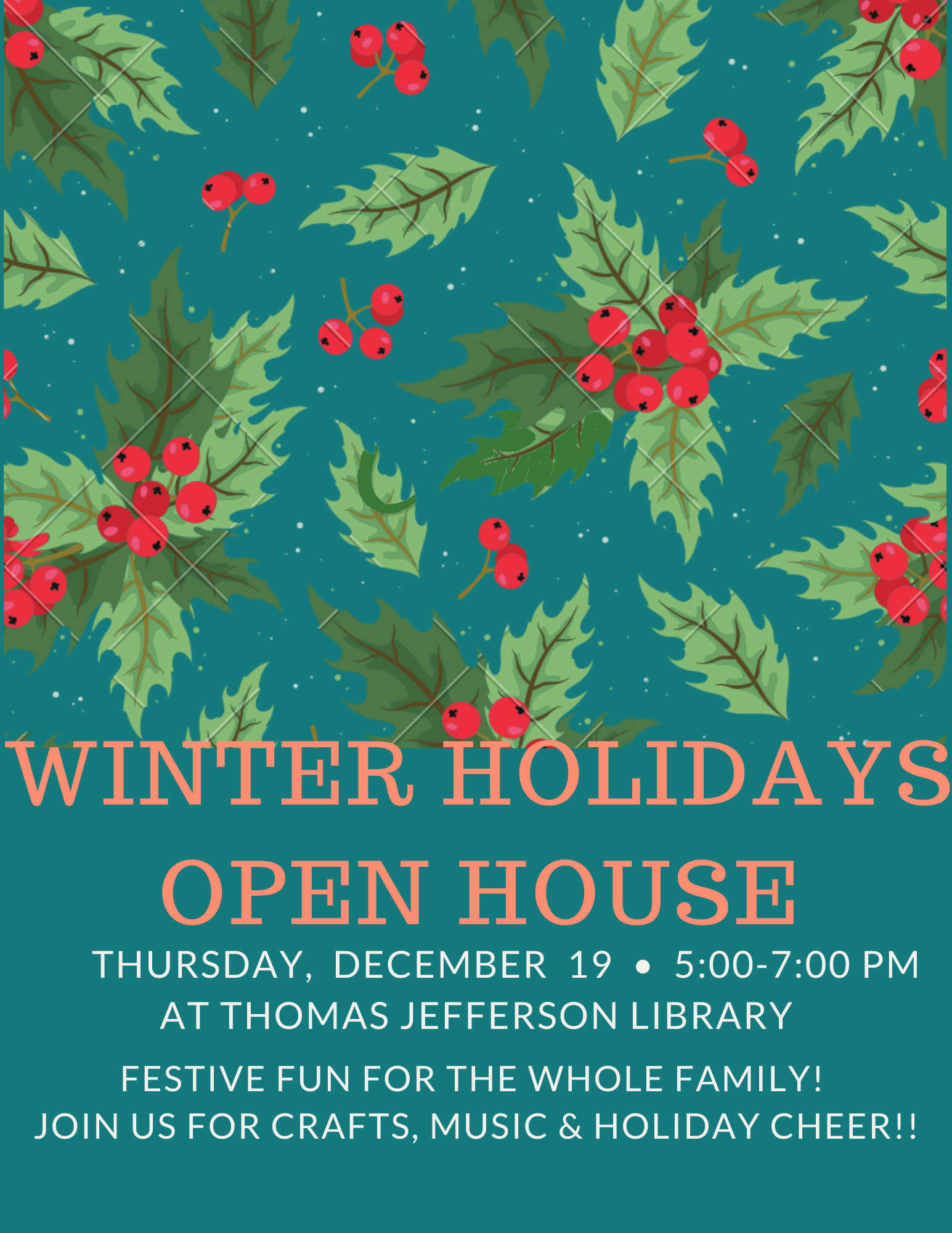 Winter Holidays Open House