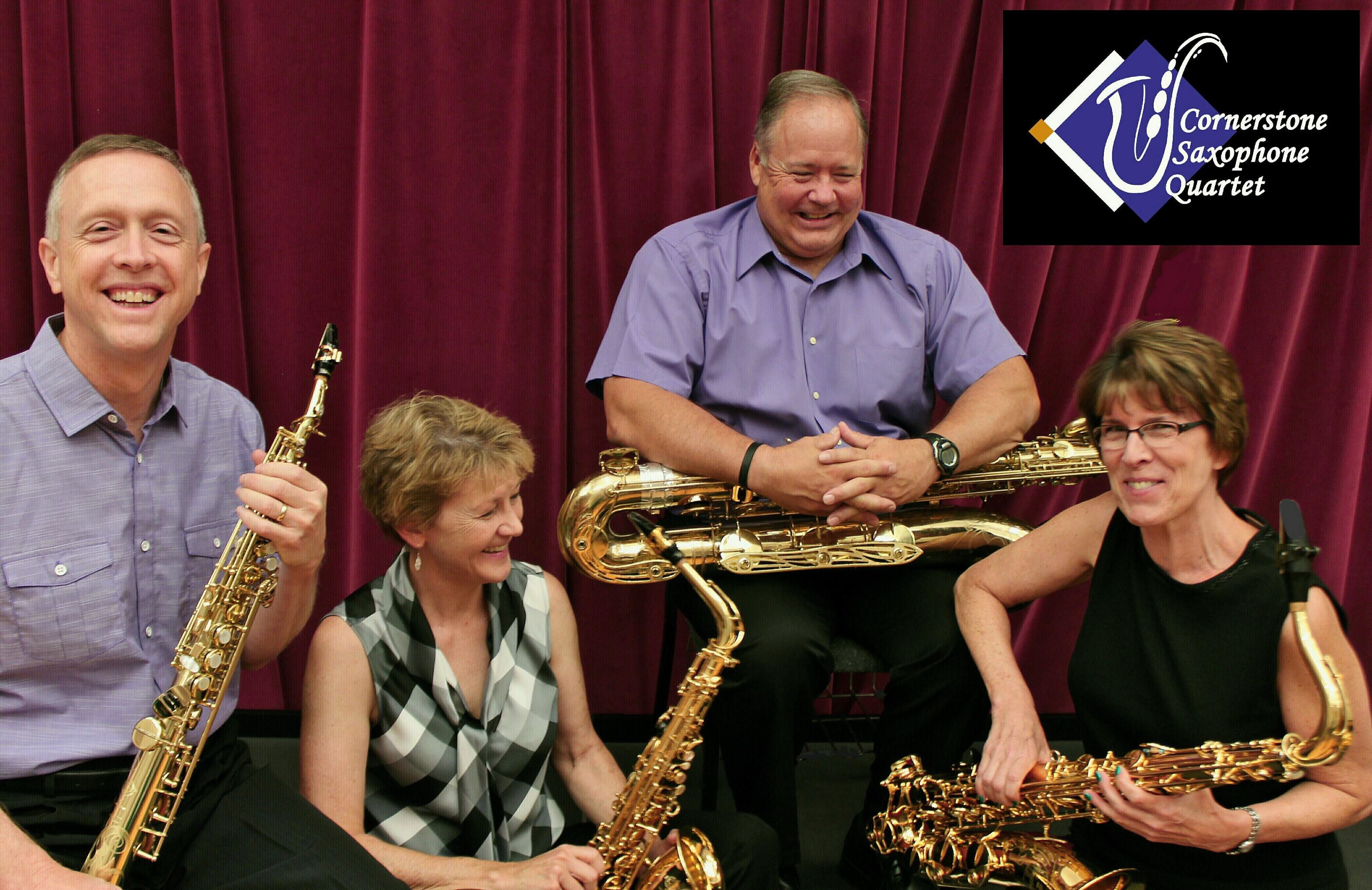Cornerstone Saxophone Quartet Concert