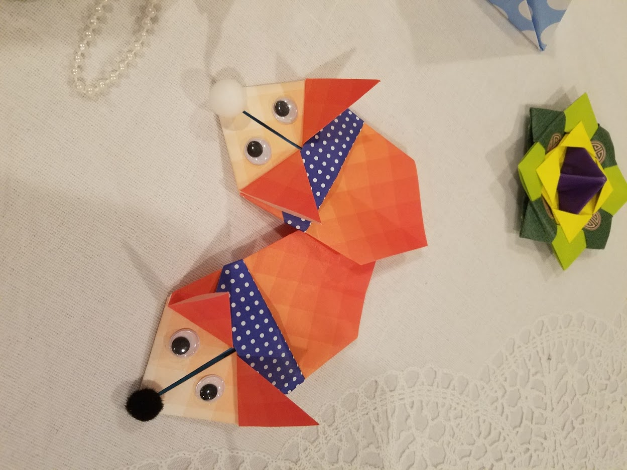 Korean paper folding with Sophia Han