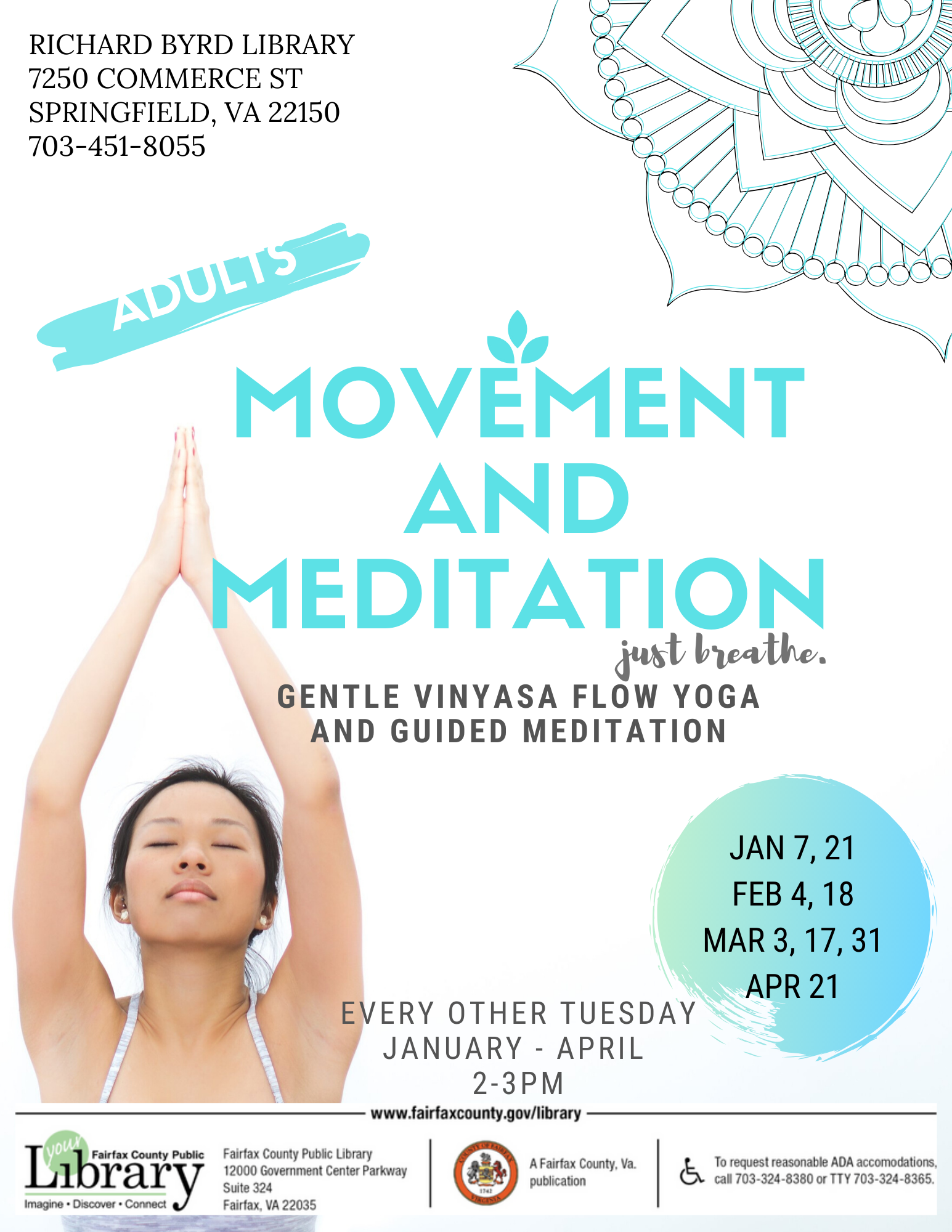 Canceled - Movement and Meditation Yoga