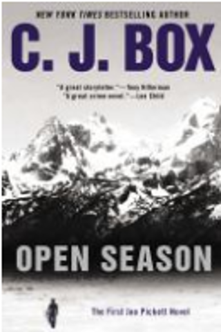 Online Mystery Book Discussion on Open Season by CJ Box