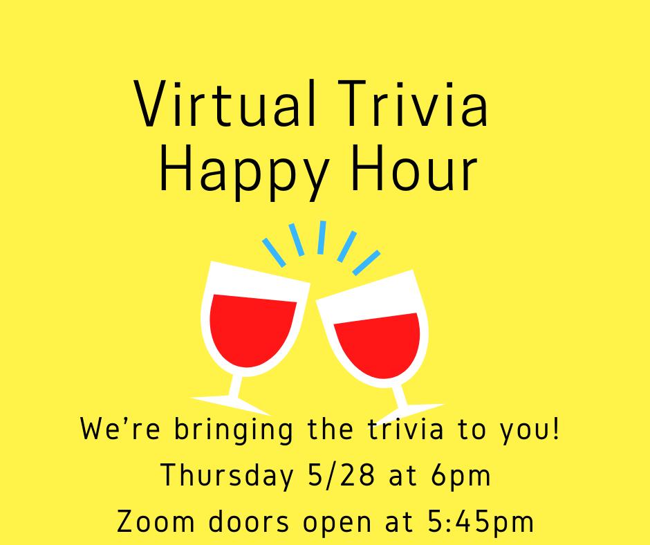 Virtual Trivia Happy Hour