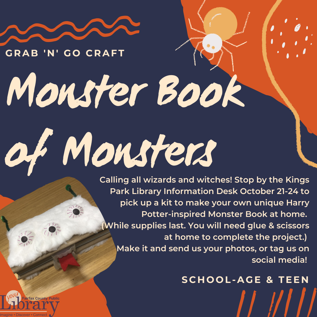 Grab and Go Craft: Monster Book of Monsters Kit