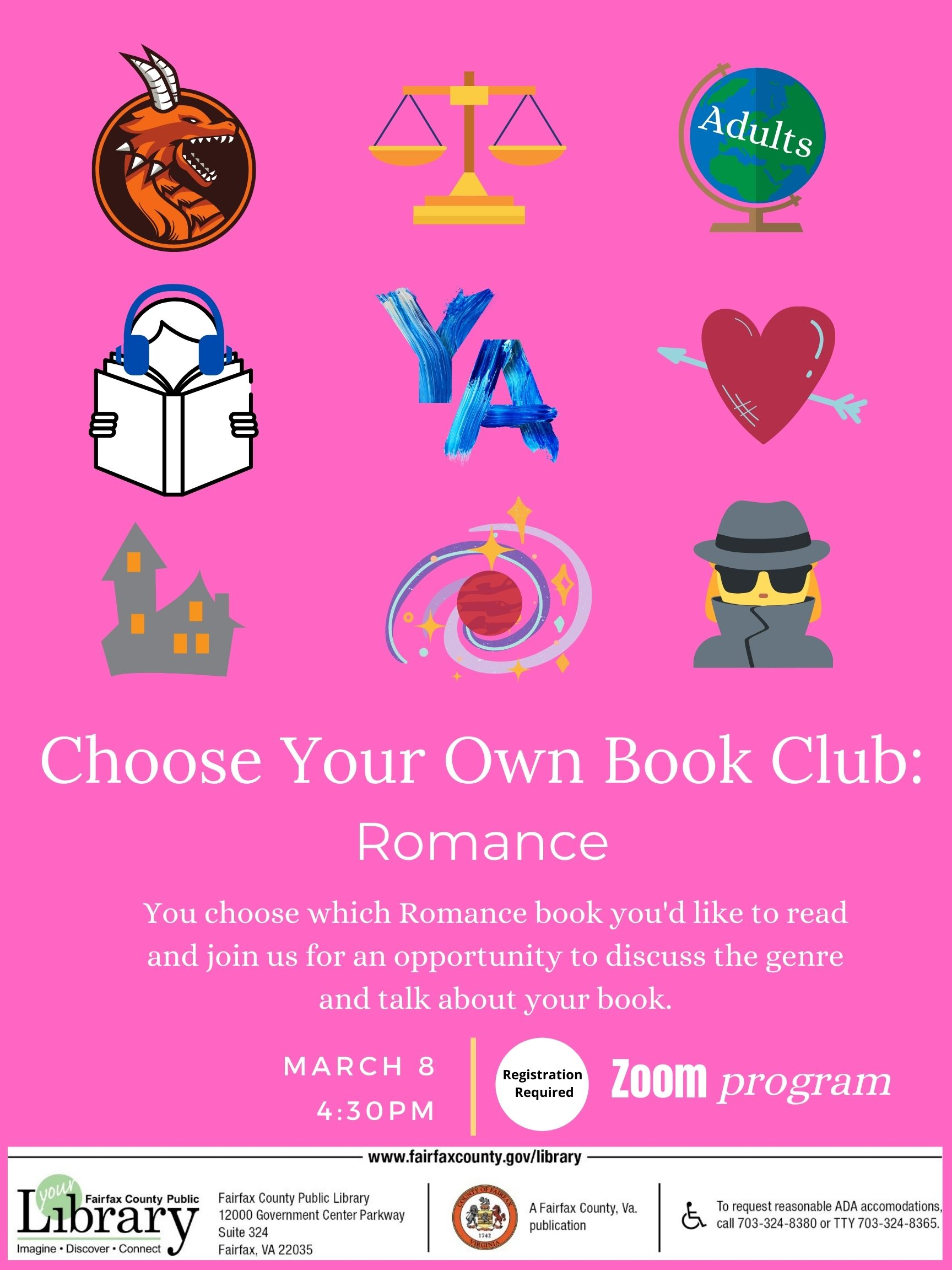 Choose Your Own Book Club: Romance