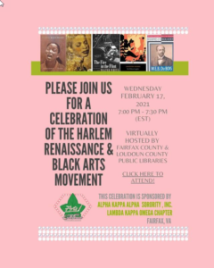 Harlem Renaissance and Black Arts Movement