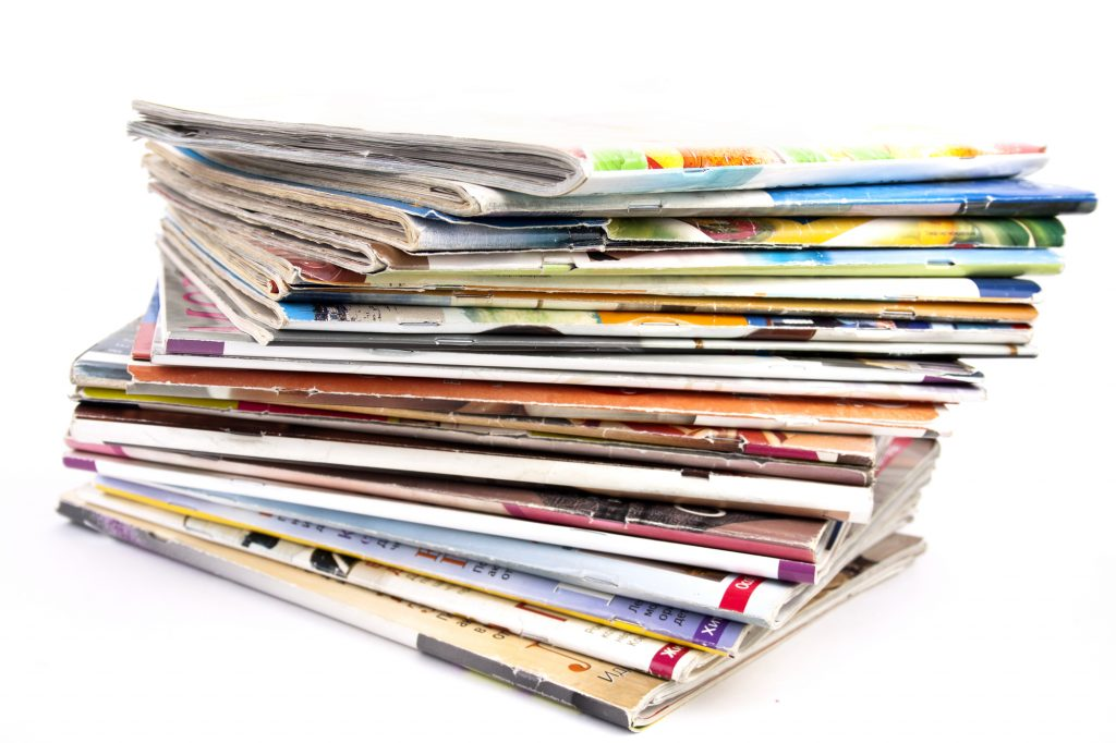 Intergenerational: Upcycled Magazines