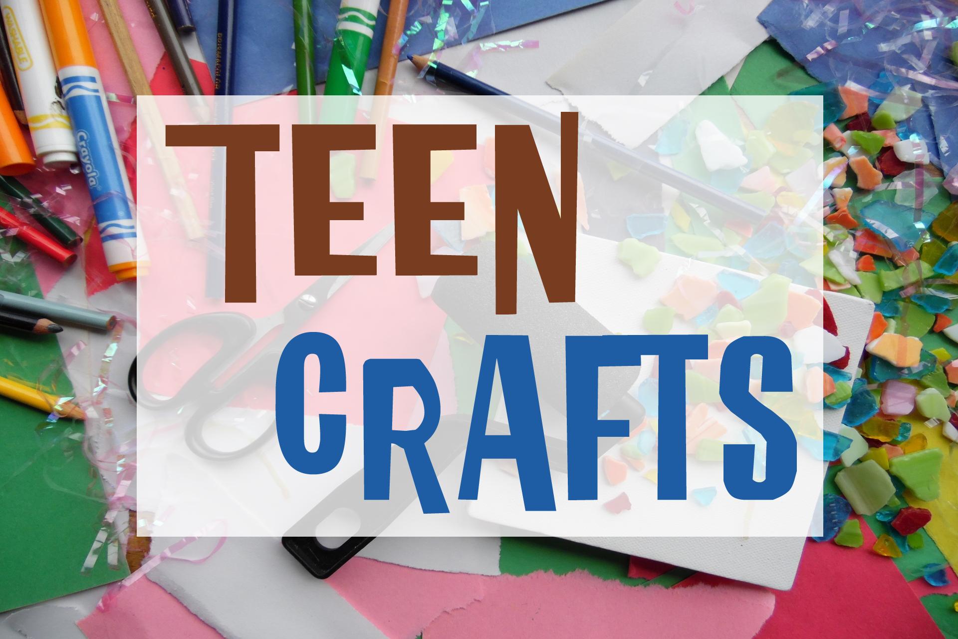 Teen Ice Cream Social: Crafts