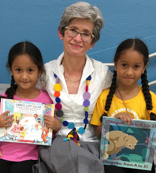 10 Questions with Lulu Delacre, author of Luci Soars and Olinguito from A to Z
