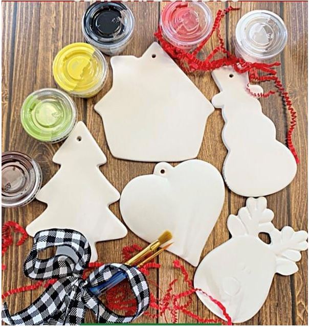 Paint Your Own Holiday Ornaments