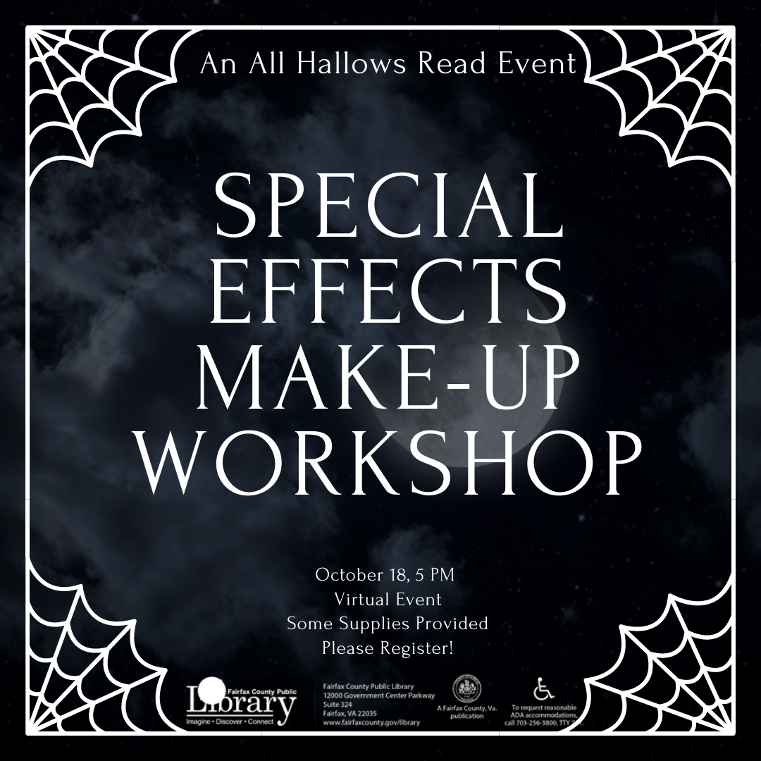 All Hallows Read: Special Effects Makeup Workshop