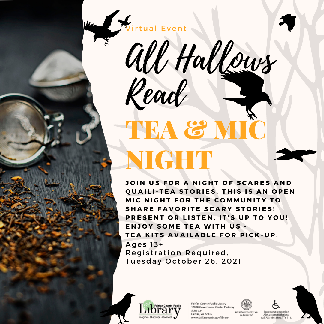All Hallows Read: Tea and Mic Night (Performers)