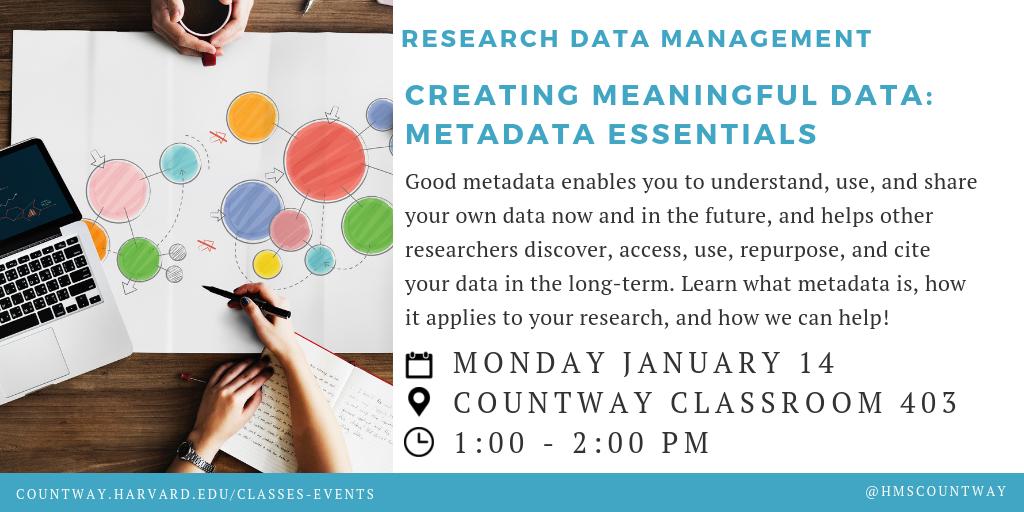Creating Meaningful Data: Metadata Essentials