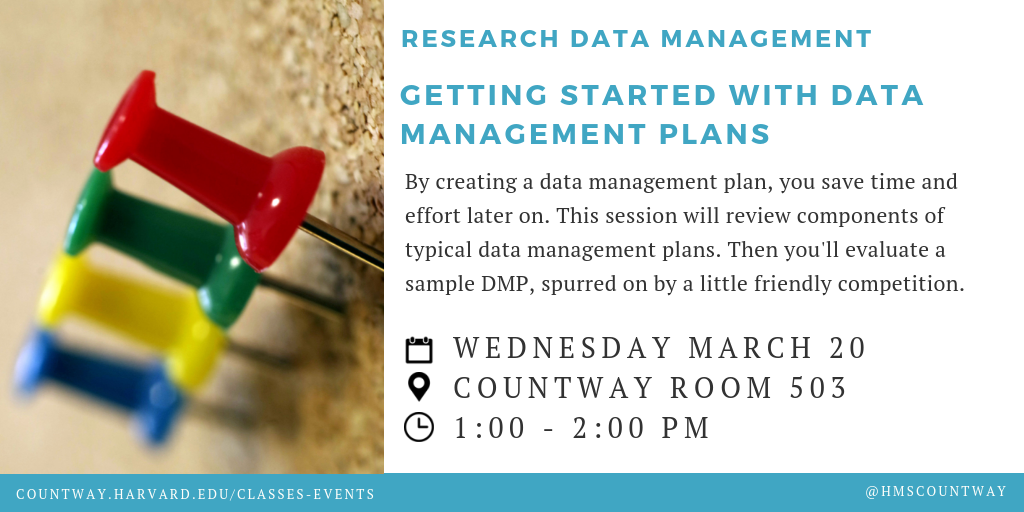 Getting Started with Data Management Plans