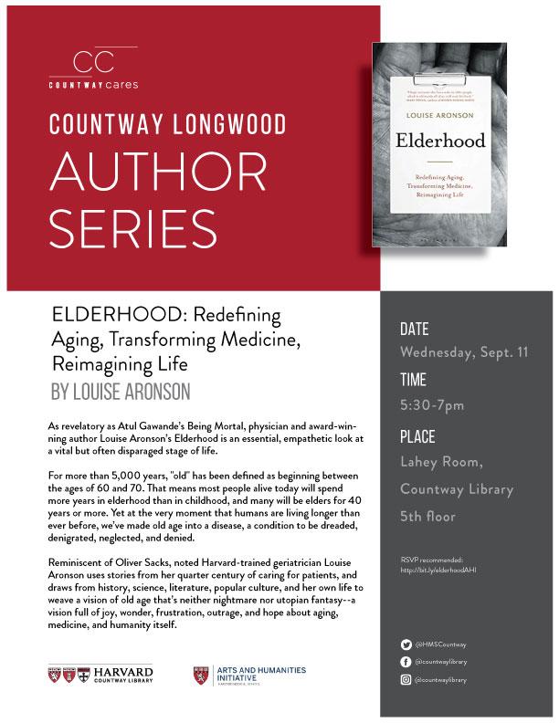 Author Series: Elderhood by Louise Aronson