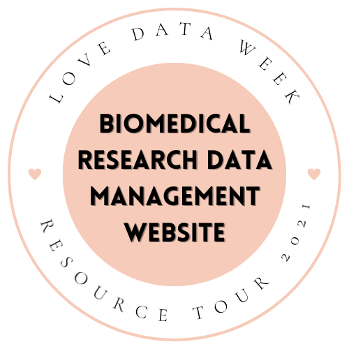 Biomedical Research Data Management Website: Resources and Guidance for RDM