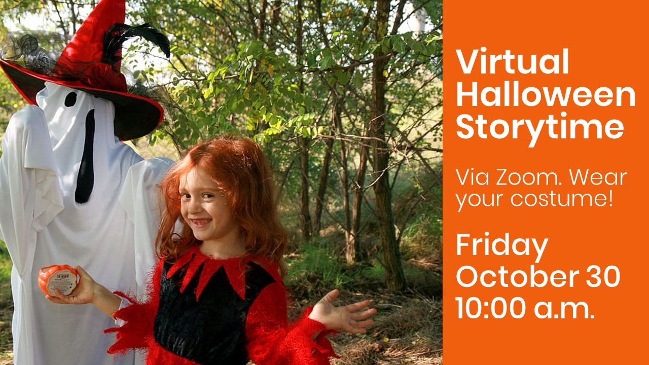 Virtual Halloween Storytime on Zoom