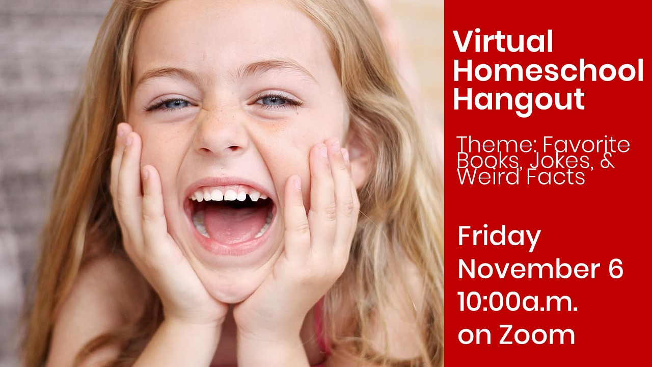 Virtual Homeschool Hangout on Zoom