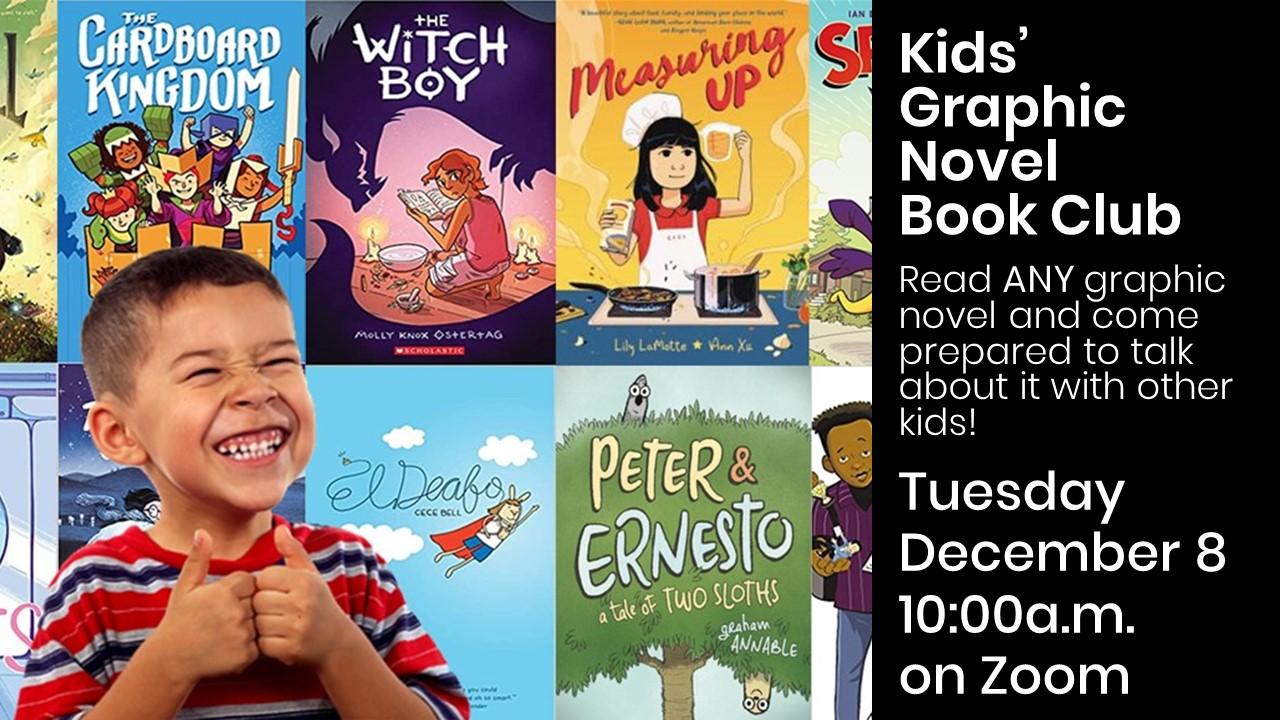 Kids' Graphic Novel Book Club